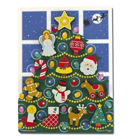 Melissa and Doug M&D Chunky Puzzle- Holiday Tree