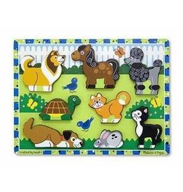 Melissa and Doug M&D Chunky Puzzle- Pets