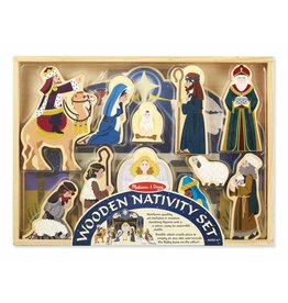 Melissa and Doug M&D Wooden Nativity Set