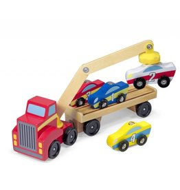Melissa and Doug Magnetic Car Loader
