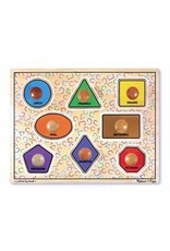 Melissa and Doug Melissa & Doug Jumbo Knob Puzzle