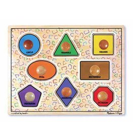 Melissa and Doug Jumbo Knob Puzzle