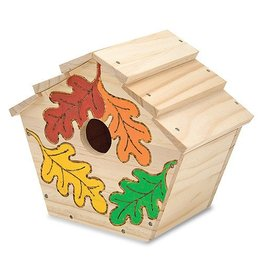 Melissa and Doug M&D BYO Wooden Birdhouse