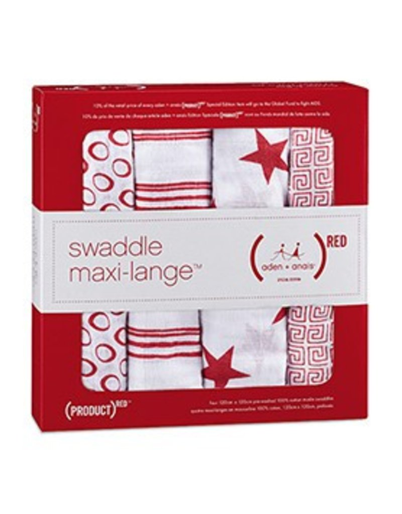 Aden + Anais Aden + Anais (PRODUCT) RED Classic Swaddle Blankets