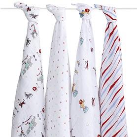 Aden + Anais Aden + Anais Vintage Circus Swaddle Blankets