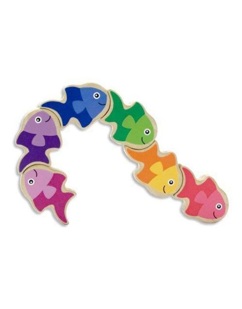 Melissa and Doug Melissa & Doug Friendly Fish Grasping Toy