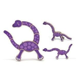 Melissa and Doug M&D Grasping Toy- Dinosaur