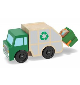 Melissa and Doug Wooden Garbage Truck
