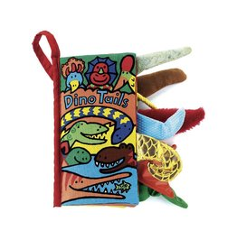 JellyCat JC Dino Tails Book