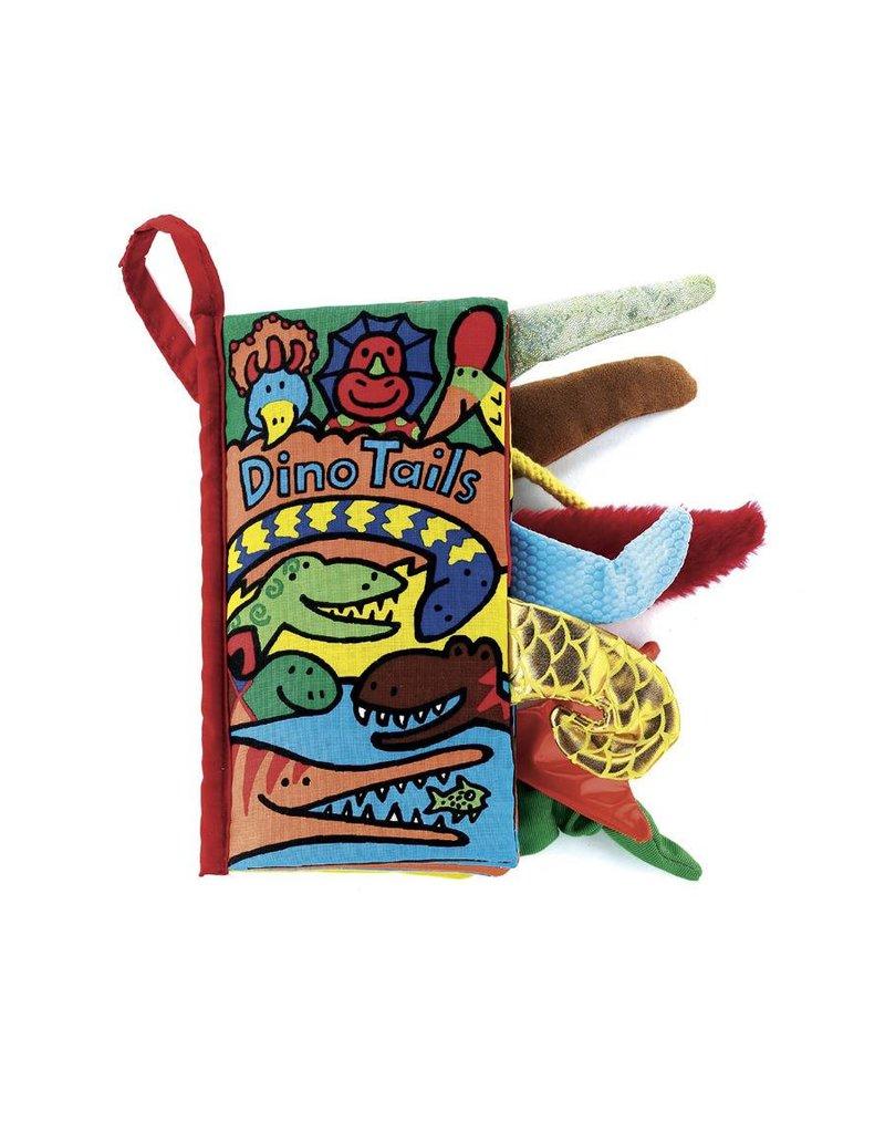 JellyCat JellyCat Dino Tails Soft Book