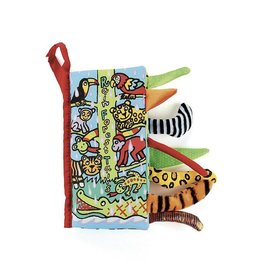 JellyCat JC Rainforest Tails Book