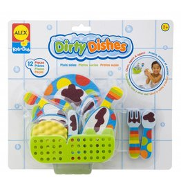 ALEX toys ALEX  Dirty Dishes Tub Stickers