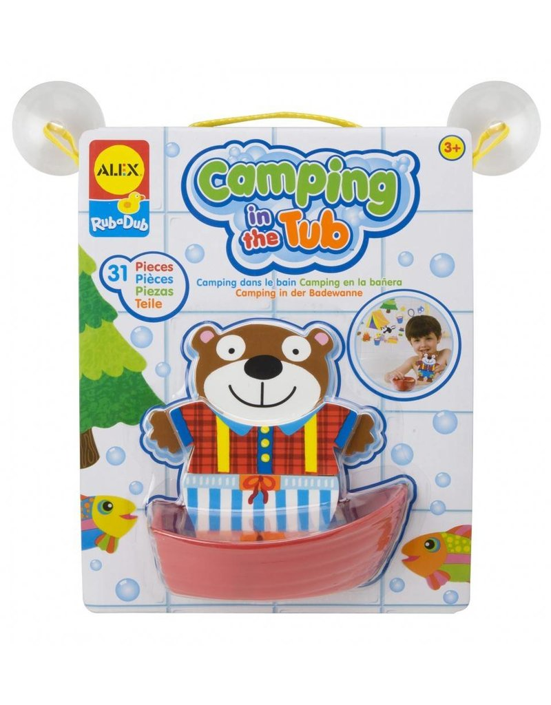 ALEX toys ALEX Toys Camping in the Tub Stickers