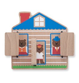 Melissa and Doug M&D Peek-a-Boo House