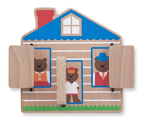 Melissa and Doug Melissa & Doug Peek-a-Boo House