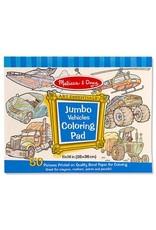 Melissa and Doug Melissa & Doug Vehicles Jumbo Coloring Pad