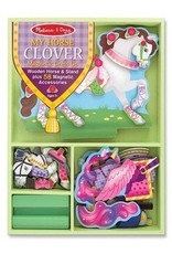 Melissa and Doug Melissa & Doug My Horse Clover Magnetic Dress Up Set