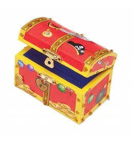 Melissa and Doug M&D DYO Wooden Pirate Chest