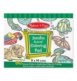 Melissa and Doug M&D Jumbo Coloring Pad- Animal