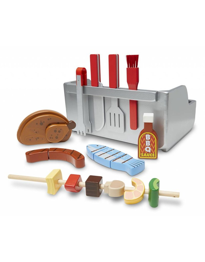 Melissa and Doug Melissa and Doug Rotisserie and Grill Barbecue Set