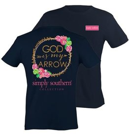 SS Simply Southern S/S Tee- Arrow