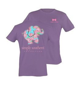 SS Simply Southern S/S Tee- Elephant