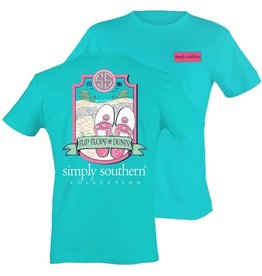 SS Simply Southern S/S Tee- Dune