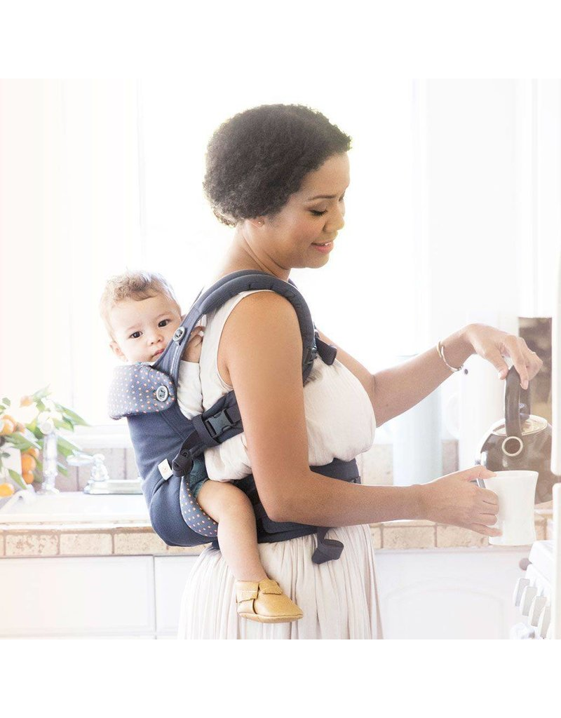 """ERGO baby ErgoBaby """"Dusty Blue"""" Four Position 360 Baby Carrier"""