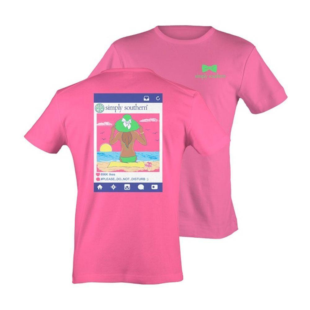 """SS Simply Southern """"Please"""" Short Sleeve Tee"""