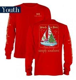 Simply Southern Yth L/S Nauti Tee
