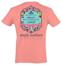 SS Simply Southern S/S Tee- Blessed