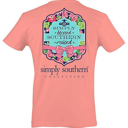 SS Simply Southern Short Sleeve Tee- Blessed