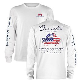 SS Simply Southern L/S Nation Tee