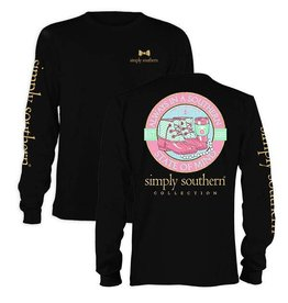 SS Simply Southern L/S- State Tee