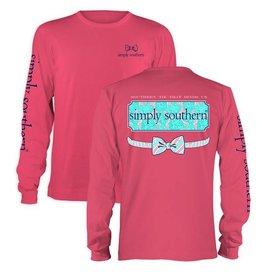 SS Simply Southern L/S- Floral Logo