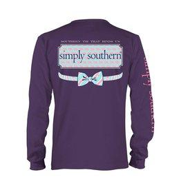 SS Simply Southern L/S- Elephant Logo