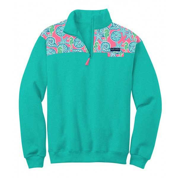 SS Simply Southern Seashell Pullover