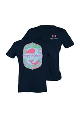"SS Simply Southern ""Seaweed"" Youth Short Sleeve Tee"
