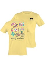 """SS Simply Southern """"Summer"""" Short Sleeve Tee"""