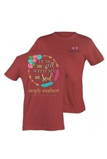 """SS Simply Southern """"Soul"""" Short Sleeve Tee"""