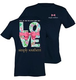 SS Simply Southern S/S Tee- Love