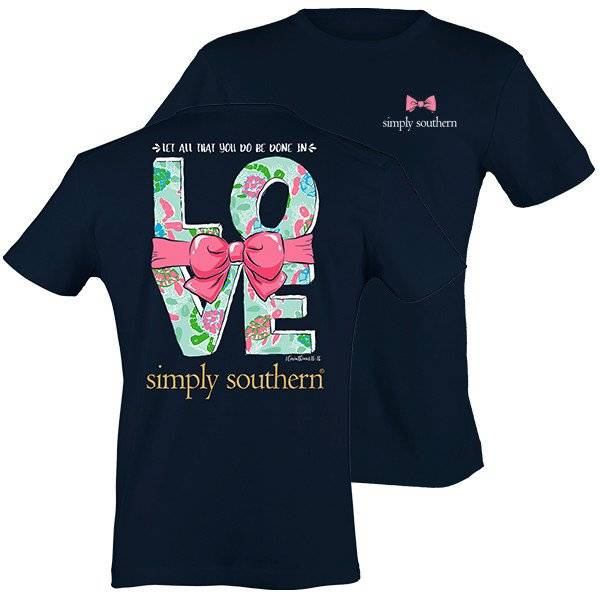 SS Simply Southern Love Short Sleeve Tee