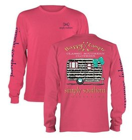 SS Simply Southern L/S Tee- Campers