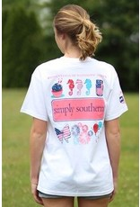 SS Simply Southern Patriotic Short Sleeve Tee