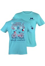 SS Simply Southern Again Short Sleeve Tee