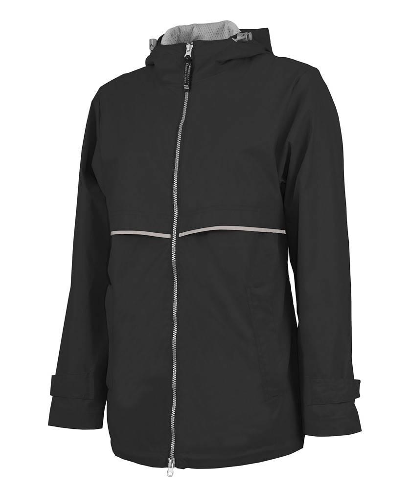Charles River Apparel Charles River Apparel Women's New Englander Rain Jacket (black)