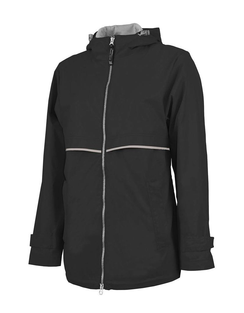 Charles River Apparel Charles River Apparel Women's New Englander Rain Jacket (black)