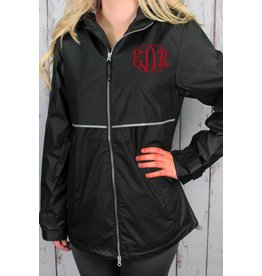 Charles River Apparel Women's New Eng Rain Jacket- Extra Small