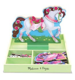 Melissa and Doug M&D Magnetic Dress up- My Horse Clover
