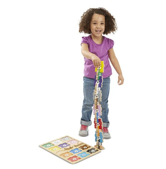 Melissa and Doug Melissa & Doug Chunky Stacking Puzzle